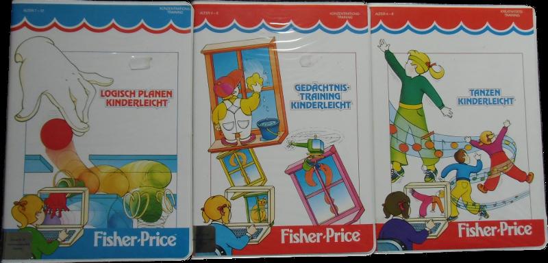 C64 Fisher Price Lernspiele